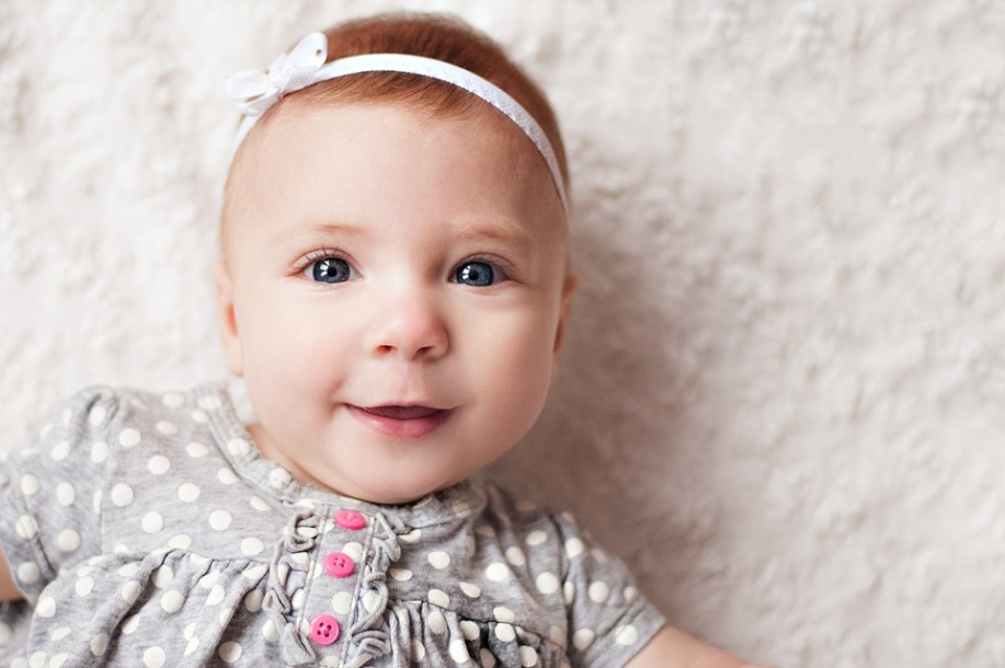 4 month Photo Session for Addison – Brewer ME Baby Photographer