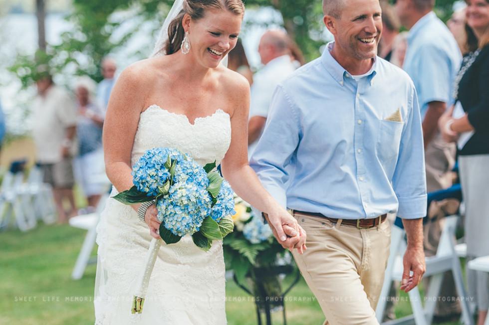 Lakeside Wedding in Rangeley Maine – Brian & Avery