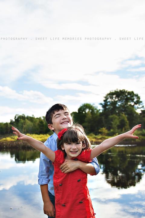 12-siblings by water