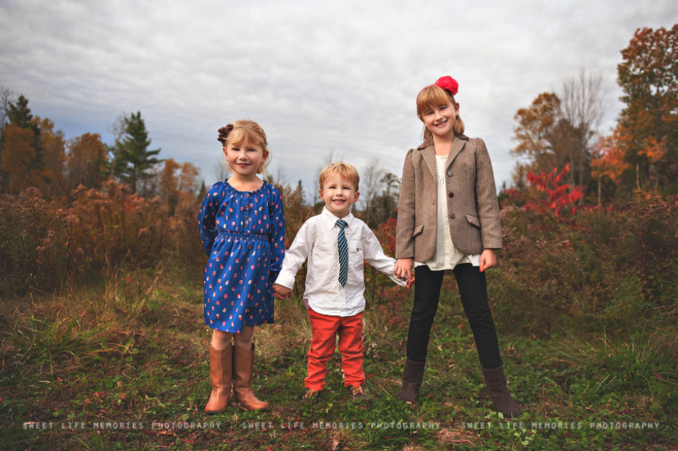Family pictures at home, Hermon Maine