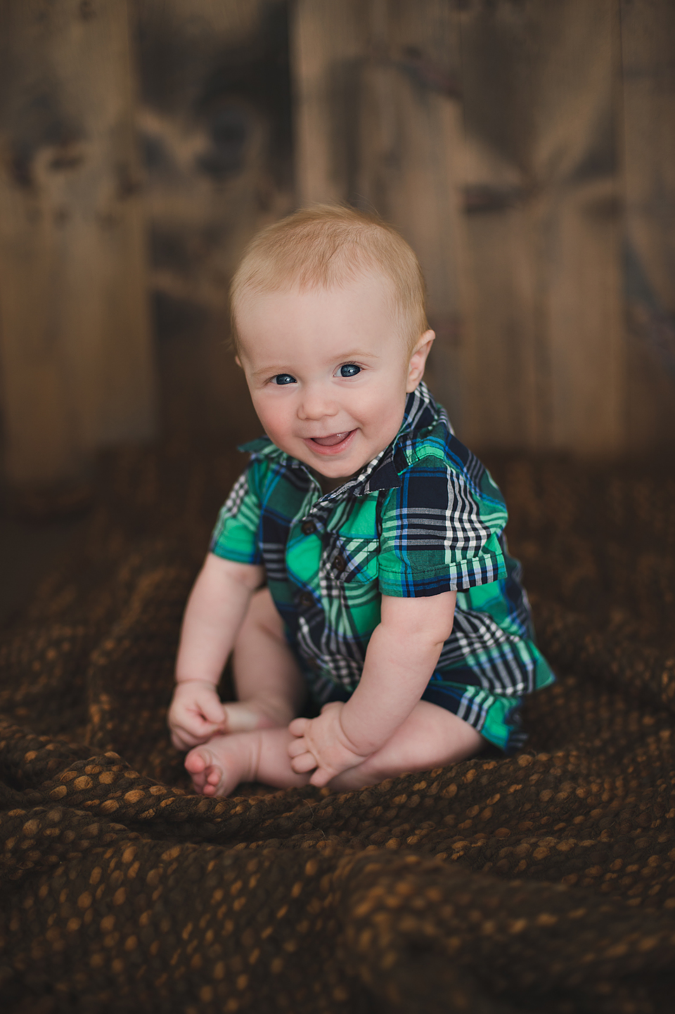 6 month old portrait